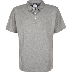 Patagonia Squeaky Clean Polo Uomo, feather grey